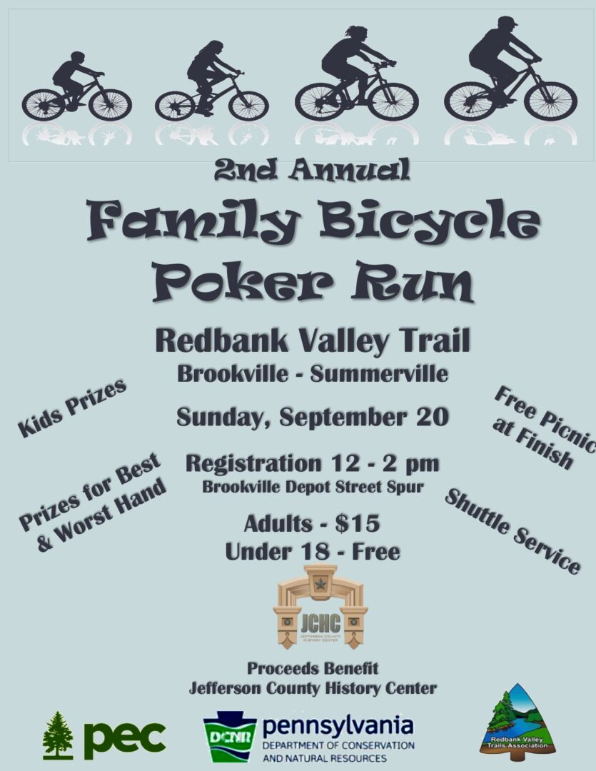Family Bicycle Poker Run Visit Pa Great Outdoors